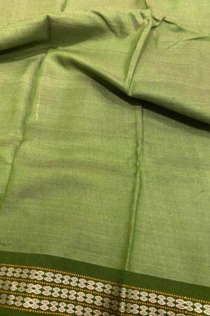 olive vidarba tussar saree2