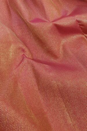pink an dbottle green shoulder silk saree3