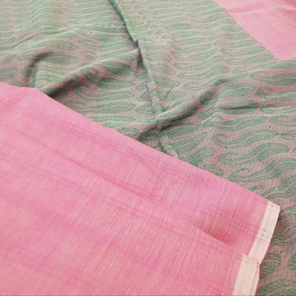 pink saree1