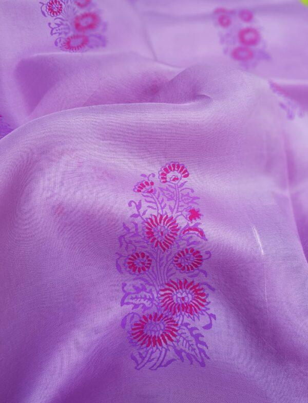 purple gulmohar saree1