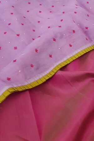 purple organza with paymadi silks saree2