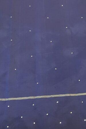 purple with blue border kanchi silk saree with kutch work2