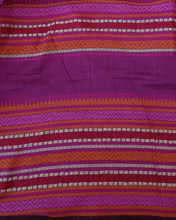 red phulia cotton saree3