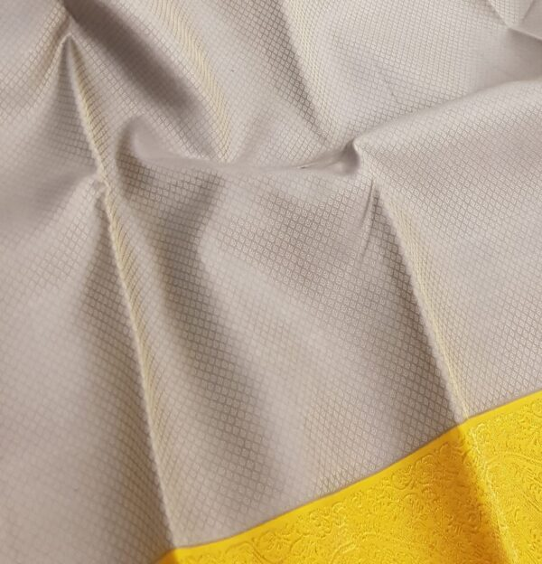 grey and mustarf silk saree4