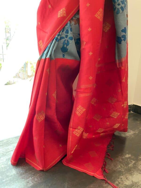grey and red with kalamkari6