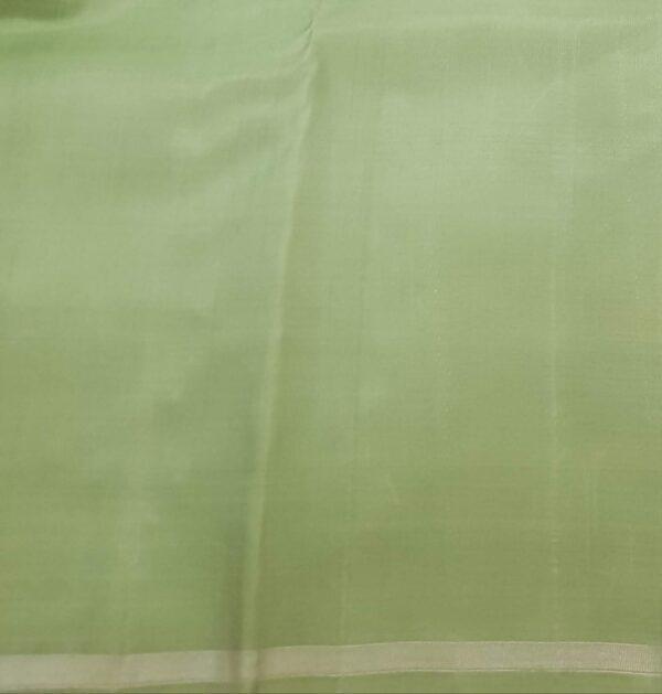 mint green palin kora silk sare2