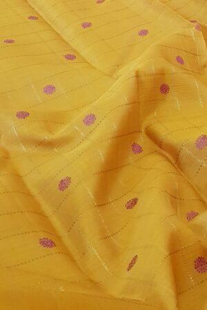 yellow with purple and zari checks6