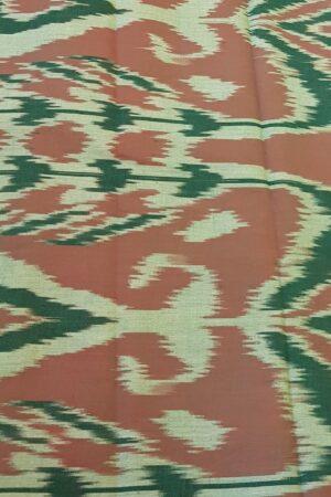 Grey chiffon sari with kanchi cotton border5