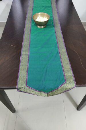 Rama green table runner 2