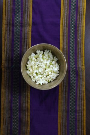 violet kanchi cotton runner 3