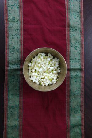 Arakku plain cotton table runner 2