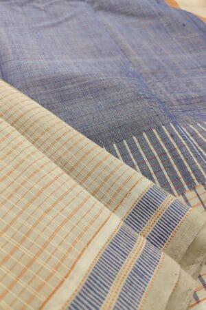 beige kanchi cotton saree1