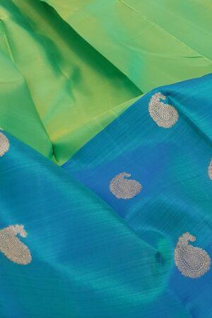 blue green half half with butti5