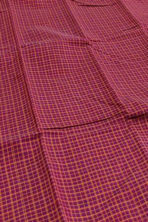 dark pink kanchi cotton saree2
