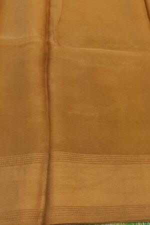 gold tissue tussar saree1