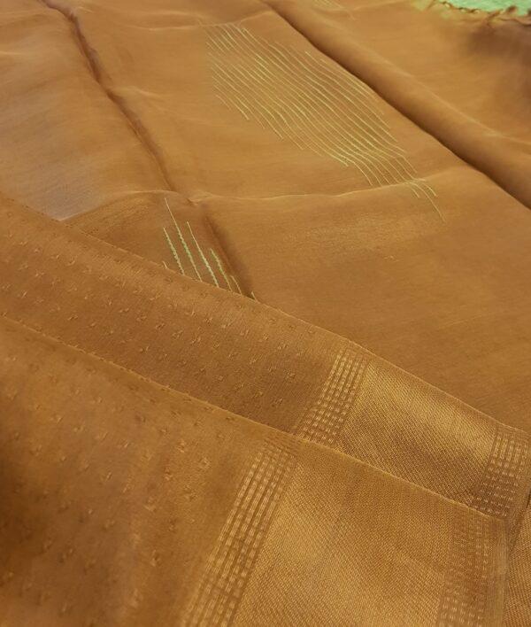gold tissue tussar saree2