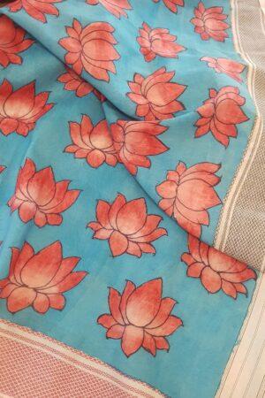 lotus with thread border1