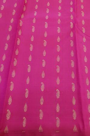 pink and orange box type kanchipuram silk saree3