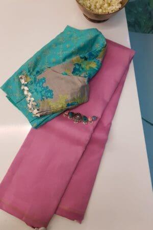 pink lavanyam kanchi silk saree
