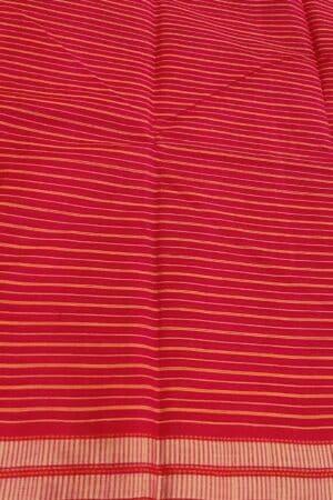 red kanchi cotton saree3