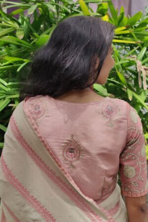 dusty pink emb blouse1
