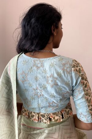 green embroidered blouse1