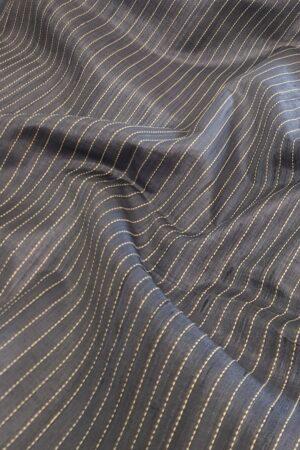 grey tussar saree1