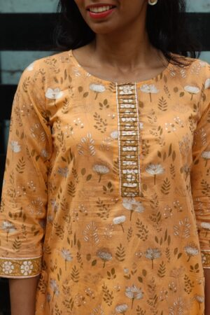 mustard top with ikat bottom2