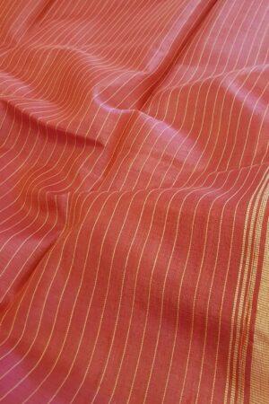 pink tussar saree1