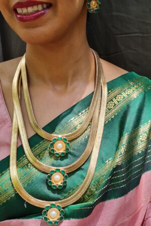 suhani green step necklace2