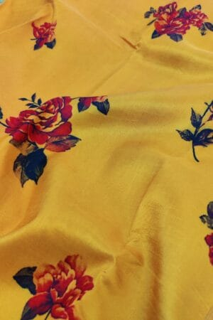 mustard with rose print1
