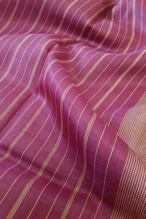 pink hand woven tussar saree2