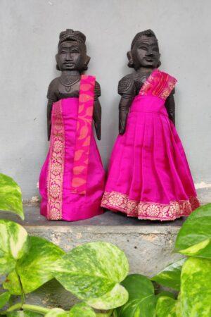 pink marapaachi dolls